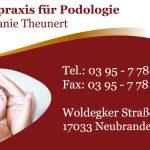 Visitenkartenerstellung MV Grafikdesign Anja Wießmann Neubrandenburg