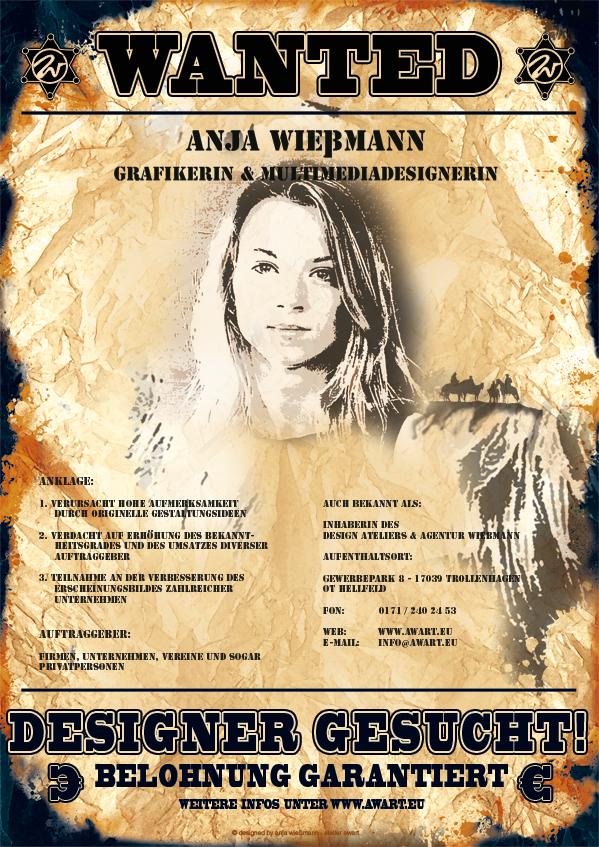 Grafikdesign Neubrandenburg Anja Wießmann
