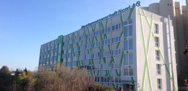 Fassadengestaltung Anja Wießmann Neubrandenburg