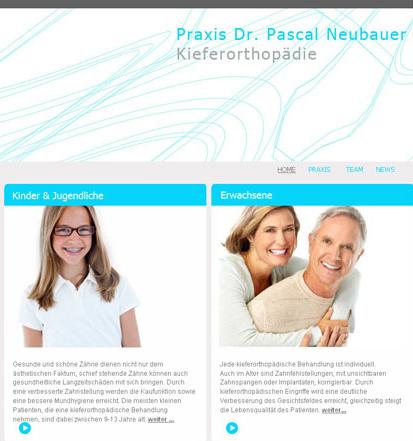 Webseitenerstellung Webdesign Kieferorthopäde Anja Wießmann Neubrandenburg