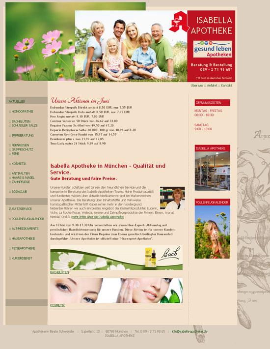 Webseitenerstellung Webdesign Anja Wießmann Köln