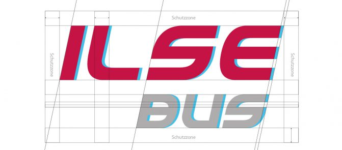 Corporate Design Ilse Bus wiessmann
